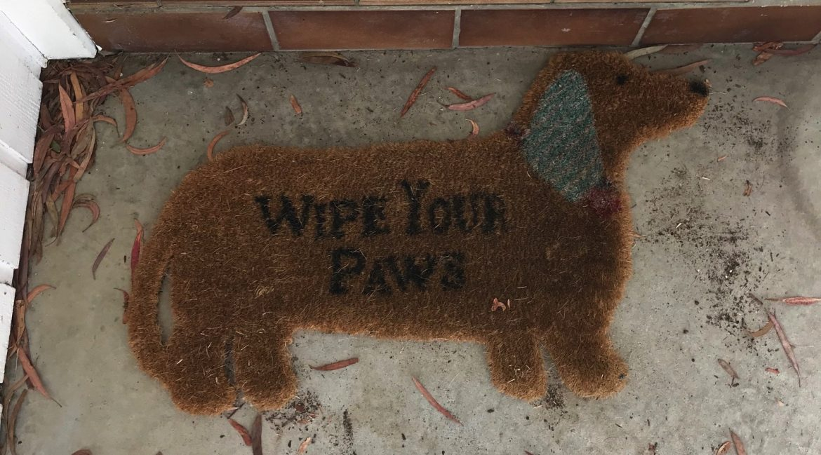 Image shows doormat